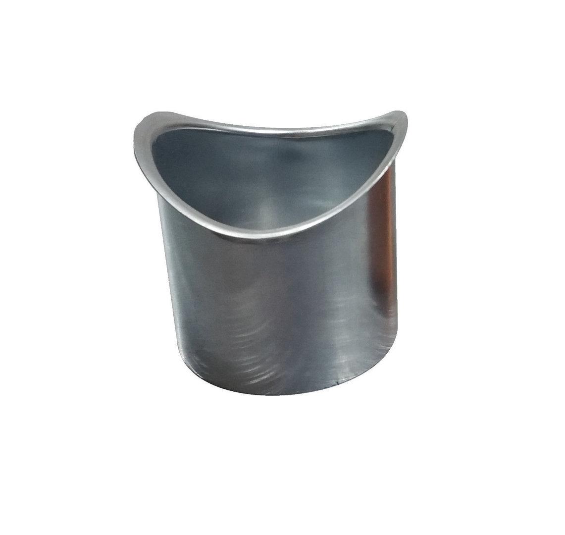 Lötstutzen Für Halbrunde Dachrinnen Metall In Form