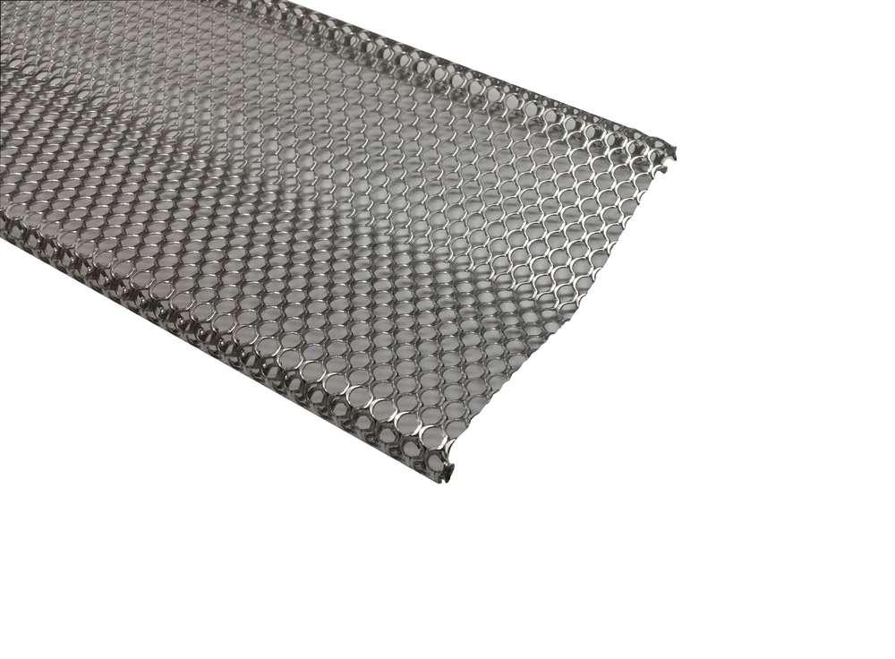 Laubschutz Dachrinne dachrinnen laubschutz rheinzink rg100 150 metall in form